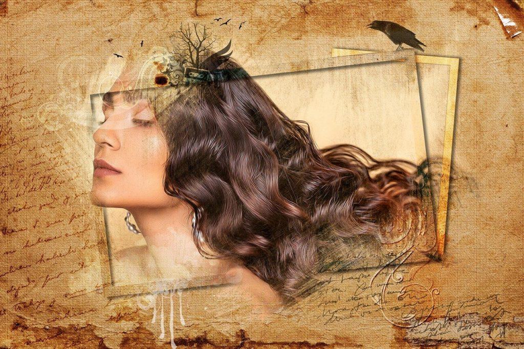 woman, female, hair